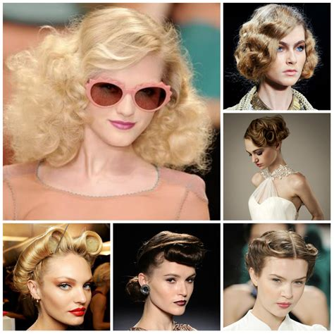 Runway Vintage Hairstyles 2017   New Haircuts to Try for