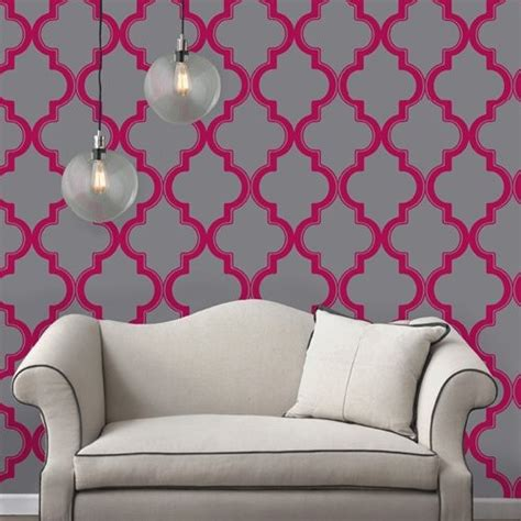 sticky wallpaper tempaper marrakesh self adhesive temporary repositionable