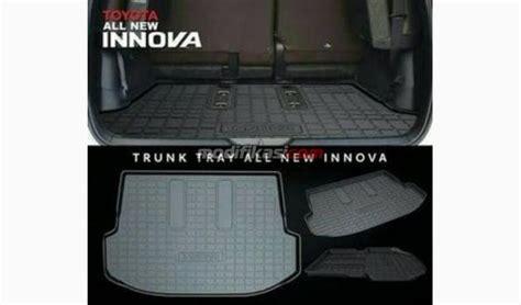 Karpet Toyota 2016 karpet toyota innova reborn 2016 original cargo trunk