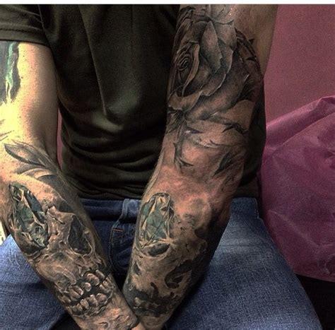 tattoo diamond sleeves diamond tattoo skull tattoo roses tattoo realistic