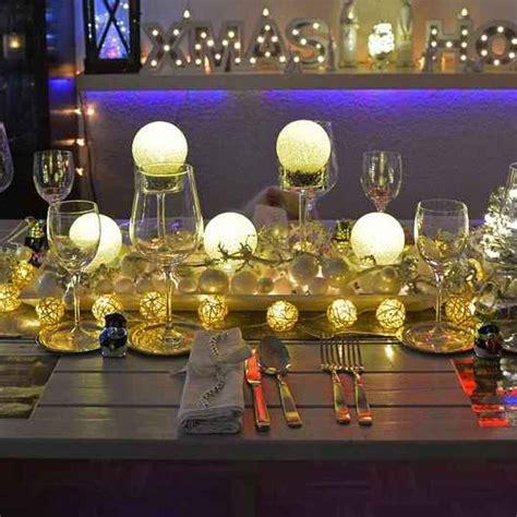 casa e tavola come addobbare la tavola a natale con 13 idee natale
