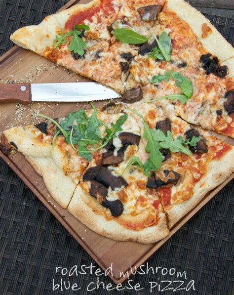 mushroom blue cheese stovetop pizza scanway catering pastry a review the culinary chase