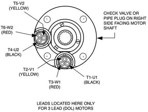 6 lead 3 phase motor wiring diagram