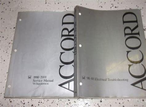 compare price to 2000 honda accord service manual