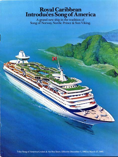 viking boats song royal caribbean introduces song of america a grand new