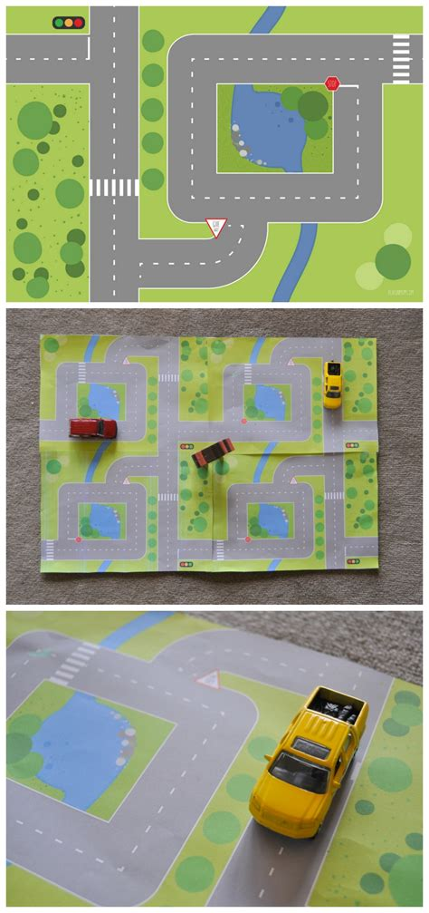printable road printable road garden play mats be a fun mum
