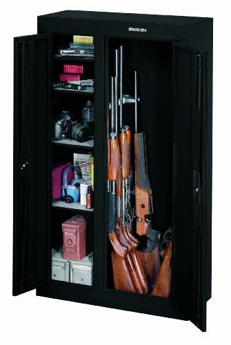 stack on gcdb 924 10 gun door steel security