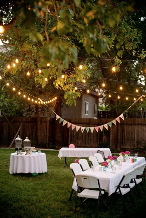 backyard decor pinterest 25 best ideas about backyard party decorations on