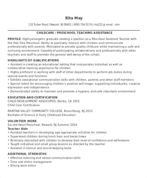 resume sles for teachers with no experience pdf 20 resume templates pdf doc free premium templates