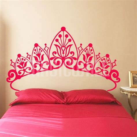 girls bedroom wall decals wall decals princess headboard wall stickers
