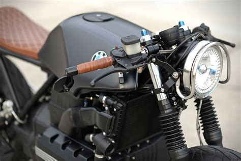 bmw k100rs cafe bmw k100rs cafe racer by hageman motorcycles hiconsumption
