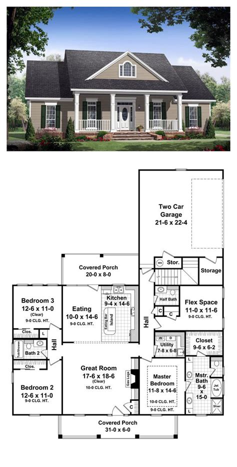 colonial house plan 2018 plans maison en photos 2018 colonial style cool house plan id chp 36803 total living area