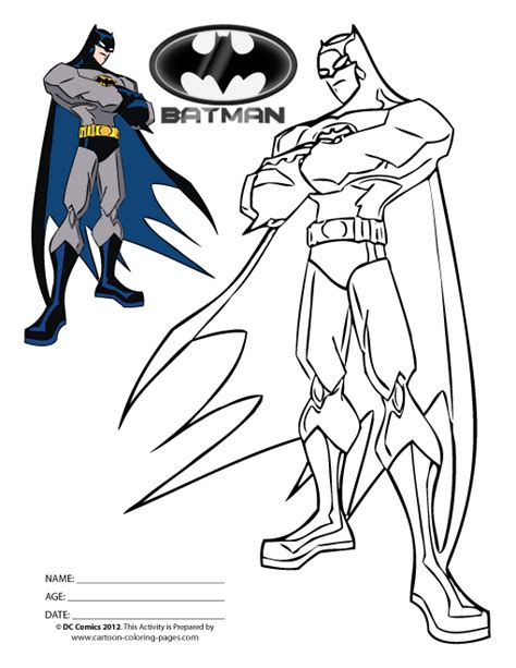 free batman villains coloring pages