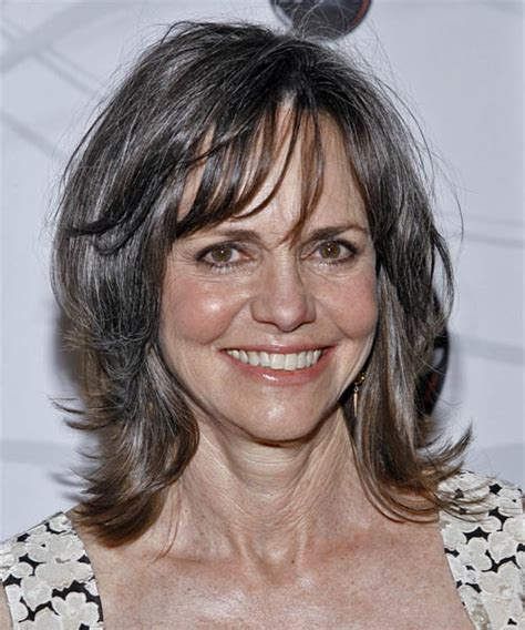 photos of sally fields hair sally field medium straight casual hairstyle