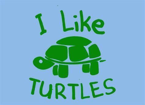 Like L by I Like Turtles T Shirt Snorgtees