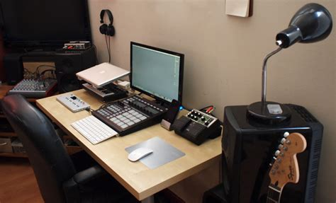 how to make a studio desk electronic zylascope
