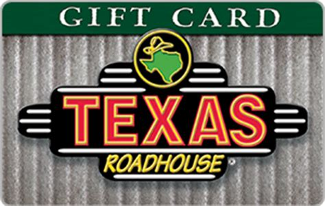 Gift Card Texas Roadhouse - texas roadhouse gift card