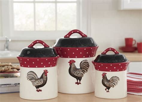 Rooster Kitchen Canisters by 270 Best Images About Canister Sets On Vintage