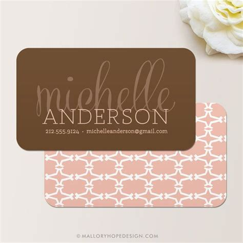 design event card luxe business card calling card mommy card contact