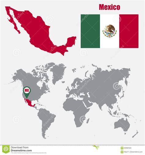 mexico in the map mexico world map roundtripticket me