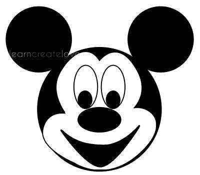 mickey mouse printables clipartsco