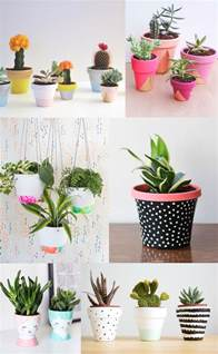 6 diy painted pot ideas tell love and party