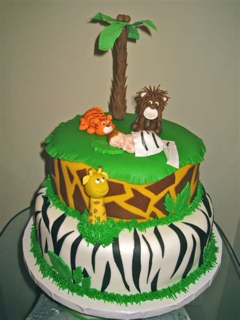 King Of The Jungle Baby Shower king of the jungle baby shower cakecentral