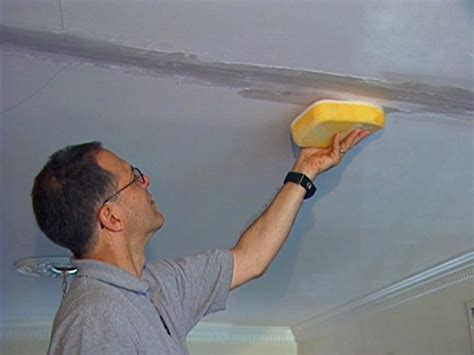 Paint For Ceiling Cracks by How To Cover A Ceiling How Tos Diy