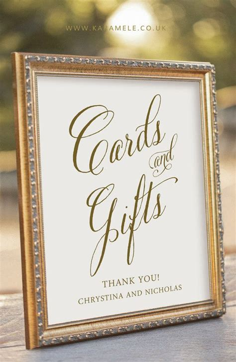 table gift card best 25 gift table signs ideas on gift table