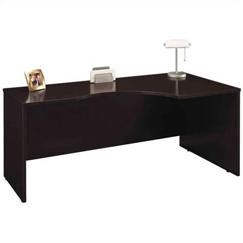 Left L Shaped Desk Bush Business Series C Mocha Cherry Left L Shaped Desk Bsc034 129