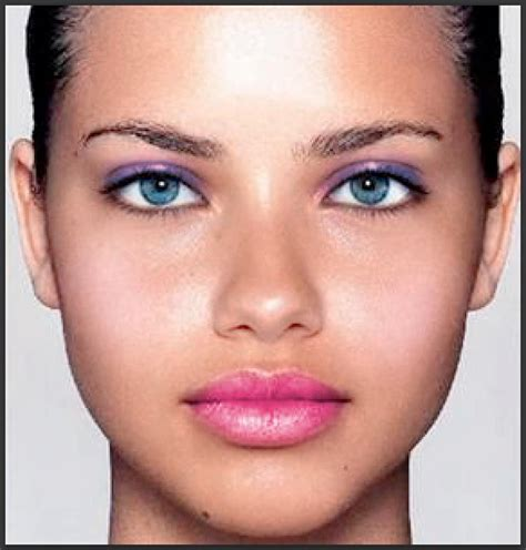 Makeup Modelled After A Cell Phone by How To Apply Makeup Using Photoshop Realistic Makeover