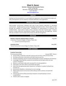 business administration marketing resume sales