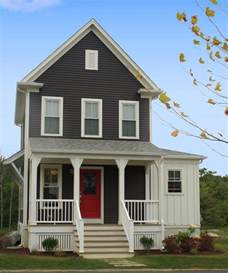 Shabby Chic Porch Decorating Ideas Farmhouse Front Porch Exterior Farmhouse With Red Front