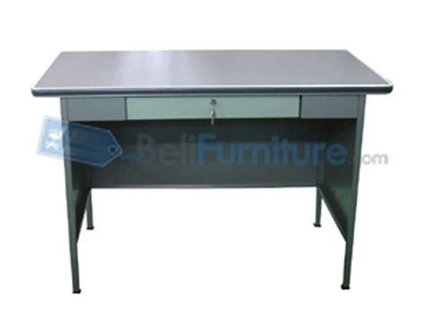 Meja Kantor Bentuk L 106 cd murah bergaransi dan lengkap belifurniture