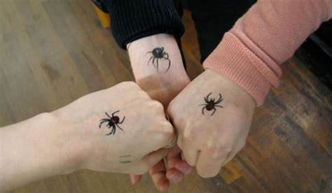 spider tattoo on hand gang 35 spider tattoo designs and ideas