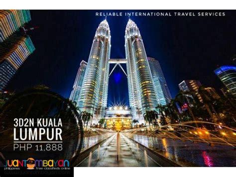 kuala lumpur malaysia  packages  airfare pasay