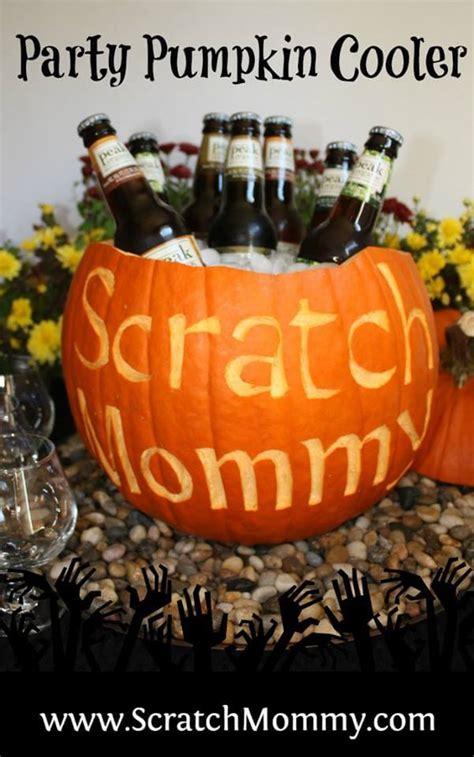 diy pronunciation diy party pumpkin cooler pronounce scratch mommy
