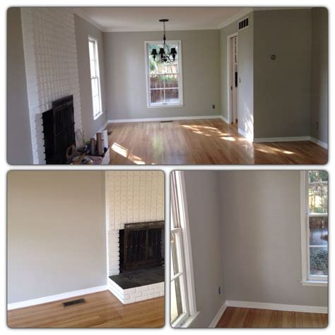 light gray walls with light oak hardwood floors wall color valspar notre dame home ideas