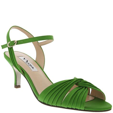 apple green shoes nina shoes nina camille in green apple green luster satin