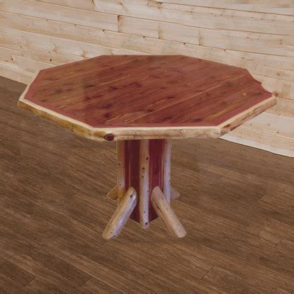 cottage cedar log dining table 15110 fireside lodge cedar log dining table stephsweeney best free home
