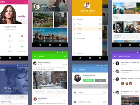 android kit free android ui kit by shakuro team dribbble