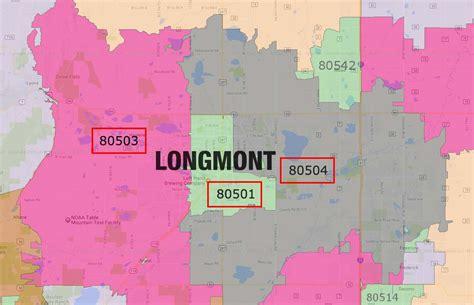 longmont co map longmont zip code map zip code map