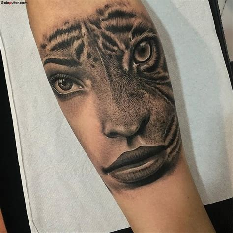 tiger face tattoo designs 62 best tiger tattoos on forearm