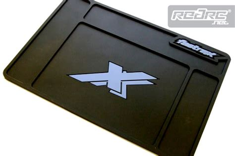 red rc rc car news 187 fastrax moulded rubber pit mats