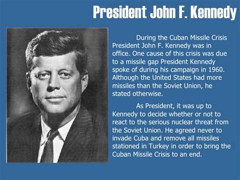 john f kennedy biography cuban missile crisis the cuban missile crisis