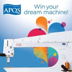 Apqs Giveaway - 1000 images about quilting machines on pinterest longarm quilting quilting and