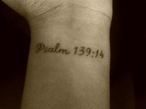 i am fearfully and wonderfully made tattoo my i praise you because i am fearfully and