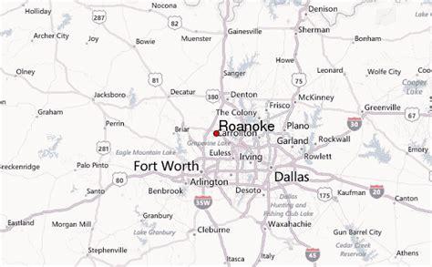roanoke texas map roanoke texas location guide