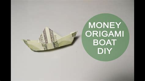 how to make a paper clip boat money boat origami dollar tutorial diy paper bills gift