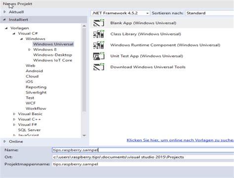 tutorial windows 10 iot windows 10 iot entwicklungsumgebung erste raspberry pi